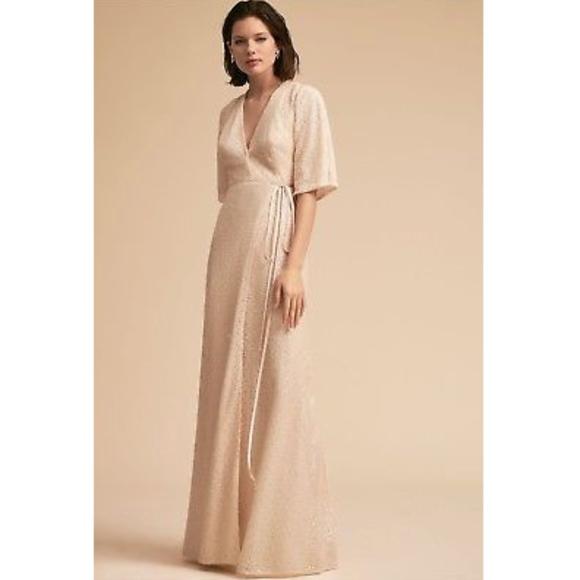 5d1388634ea NWT BHLDN SEQUINED JORDANA DRESS